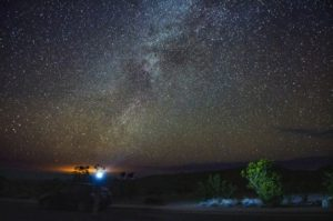 Milky Way from Big Bend by Vincent Lock