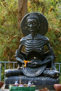 Emaciated Siddhartha, photo by Akuppa John Wigham
