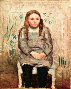 La Petite Concierge painting by Francis Smith